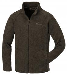 Angelsport XXXL Pinewood Gabriel Membran Fleece Strick Jacke Oliv Melange winddicht Gr Bekleidung