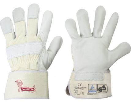 Calcutta Stronghand Handschuhe weiß