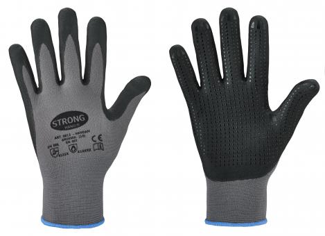 HANDAN - Soft Grip Handschuhe grau/schwarz