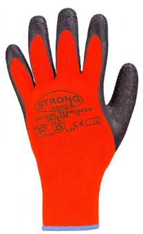 Rasmussen Stronghand Handschuh orange/schwarz