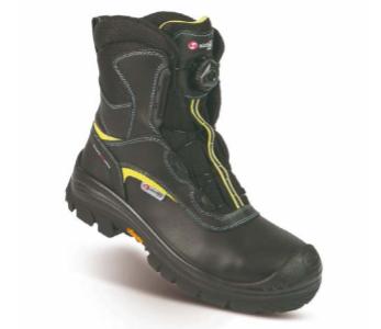 Sixton ROTOR Arctic Grip® - S3 schwarz-gelb
