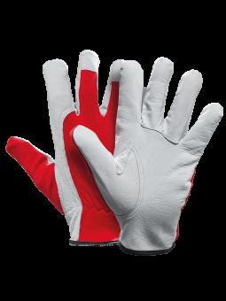 Pfanner Ziegenleder-Handschuh Allround rot