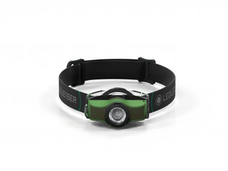 """LedLenser® Stirnlampe """"MH 4"""" grün"""