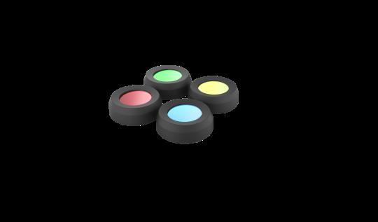 LedLenser Color Filter Set 36 mm für MH 10