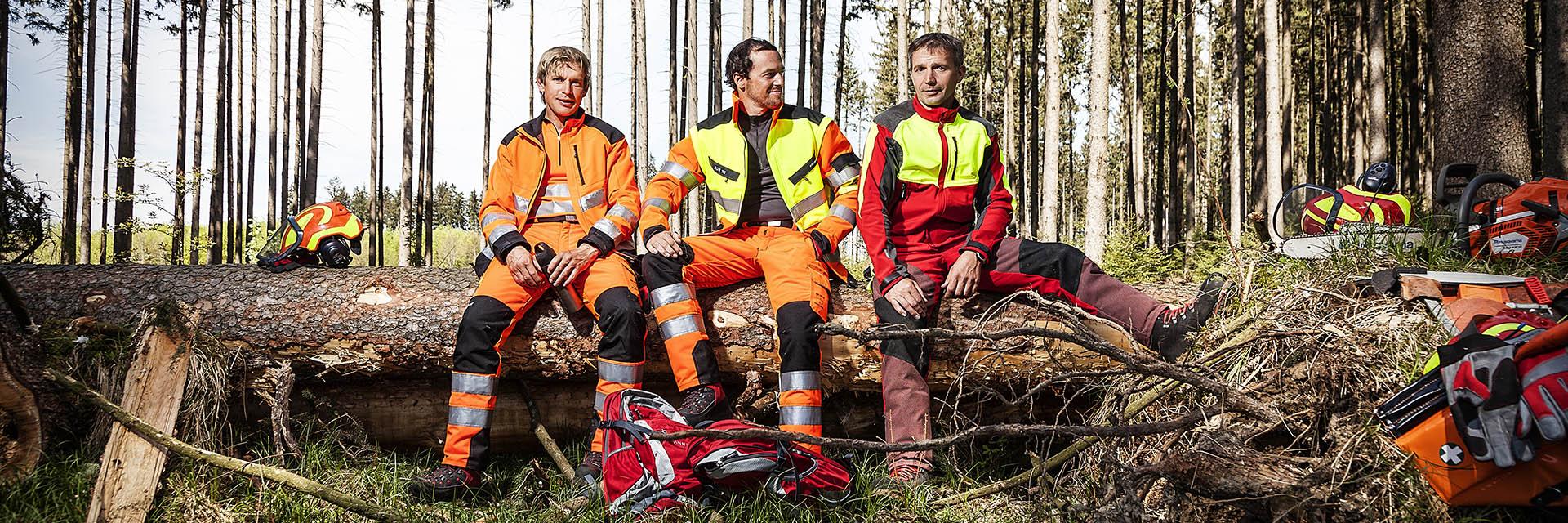 Kategorien - Forst Arbeitsschutz